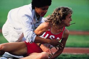 Olympics Burnett